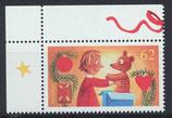 BRD 3185 postfrisch mit Eckrand links oben