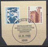 BERL 798-799  mit Ersttagssonderstempel