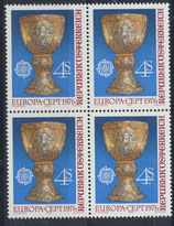 AT 1516 postfrisch Viererblock