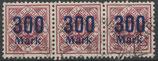 169  gestempelt Dreierstreifen (WÜRT-DI)
