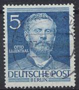 BERL 92 gestempelt