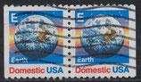 USA 1973D  gestempelt senkrechtes Paar