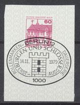 BERL 611  gestempelt mit Ersttagssonderstempel
