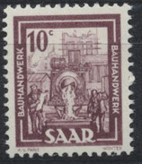 SAAR 272 postfrisch