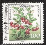 1508 I / DE1406-002 gestempelt (Plattenfehler DE)