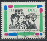 DDR 1022 gestempelt