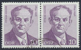 DDR 1908 gestempelt waagrechtes Paar