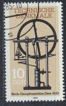 DDR 2957  philat. Stempel