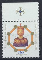 BRD 2088 postfrisch mit Bogenrand oben