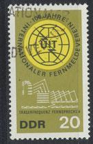 DDR 1113  philat. Stempel (1)