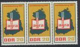 DDR 1292 postfrisch Dreierstreifen