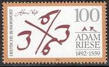 1612 postfrisch (BRD)