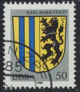 2859  philat. Stempel (DDR)