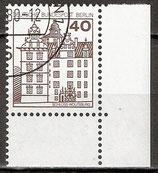 614 gestempelt Eckrand rechts unten (WB)
