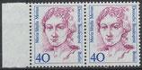 788 postfrisch waagrechtes Paar mit Bogenrand links (BERL)