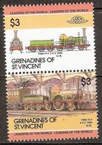 369-370 postfrisch (St. Vincent / Grenadinen Eisenbahn)