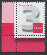 2964 postfrisch mit Eckrand links unten (BRD)