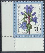 821 postfrisch Eckrand links unten (BRD)