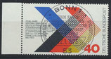 BRD 753 gestempelt mit Bogenrand links