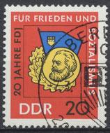 1167 philat. Stempel (DDR)