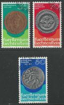 677-679  gestempelt  (LIE)