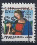 USA 1856 gestempelt