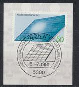 BRD 1101 mit Ersttagsonderstempel