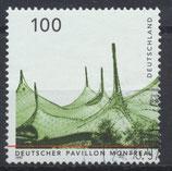 BRD 1909 gestempelt