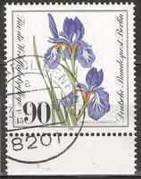 653 mit Unterrand gestempelt (BERL)