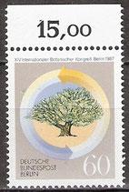 786 postfrisch mit Oberrand (RWZ 15,00) (BERL)