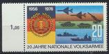 DDR 2117 postfrisch mit Bogenrand links