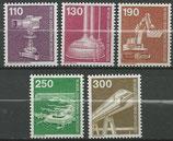 BERL 668-672  postfrisch