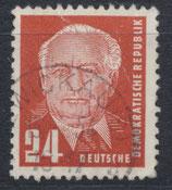 DDR 324  philat. Stempel