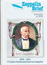 Zeppelin-Brief Ausgabe Dezember 2013