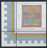 BRD 1981 postfrisch mit Eckrand links unten