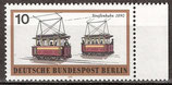 380 postfrisch mit Bogenrand rechts (BERL)
