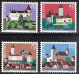 CH 1156-1159  postfrisch
