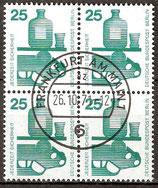 BERL 405 gestempelt Viererblock
