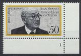 BRD 926 postfrisch mit Eckrand rechts unten