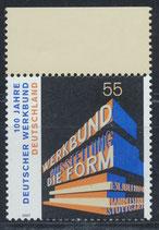 BRD 2625 postfrisch mit Bogenrand oben