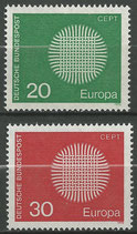620-621  postfrisch  (BRD)