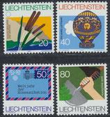 824-827 postfrisch (LIE)