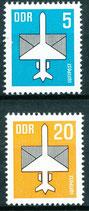 2831-2832 postfrisch (DDR)