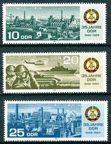 2893-2895 postfrisch (DDR)