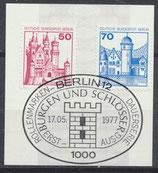 BERL 536-538  gestempelt mit Ersttagssonderstempel