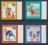 BRD 882-885 postfrisch mit Bogenrand rechts