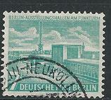 BERL  121 gestempelt