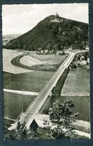 34457   (W-4952)   Porto Westfalica   -Weserbrücke mit Kaiser-Wilhelm-Denkmal-   (PK-00473)