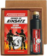 Geschenk Ste Feuerwehr Männer mit Kräuterlikör