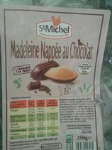 Madeleine nappée au chocolat 350g